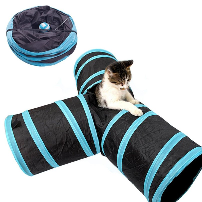 cat gift ideas, geartist pet cat tunnel maze image