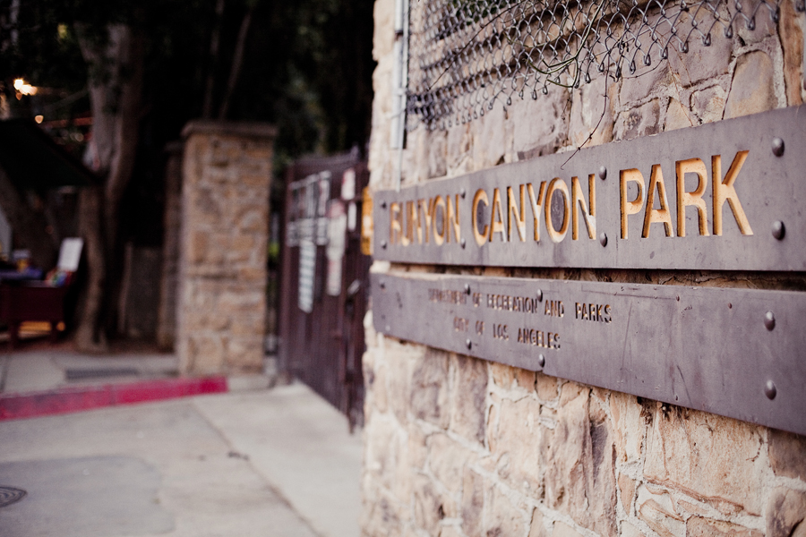 Runyon Canyon Park in Hollywood, Los Angeles.