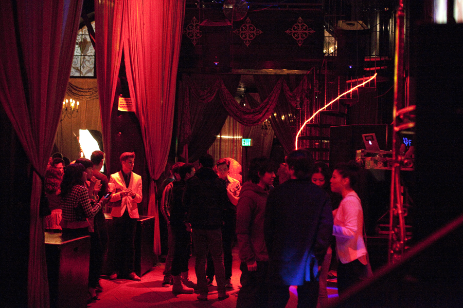 Lookbook launch party at Boardners in Hollywood.