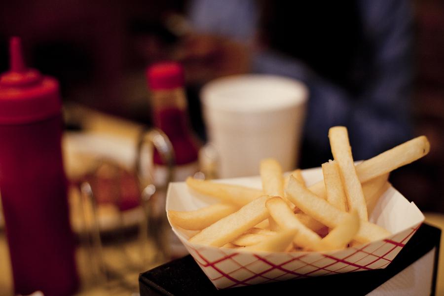 Fries at Jose Bernstein's at Westwood Village.