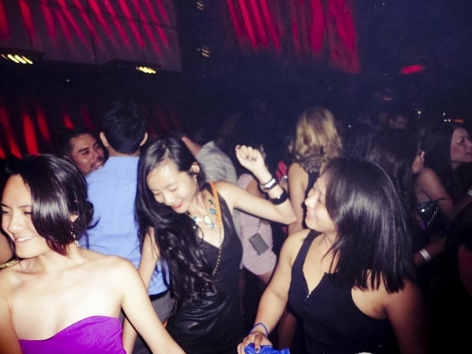 Dance floor at Light nightclub, Las Vegas.