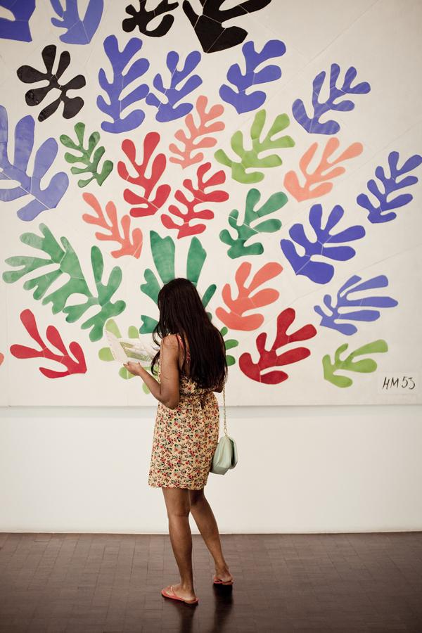 Henri Matisse: La Gerbe at LACMA.