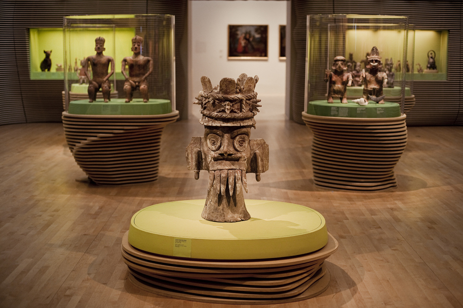 Art of the Ancient Americas exhibit at LACMA, Los Angeles.