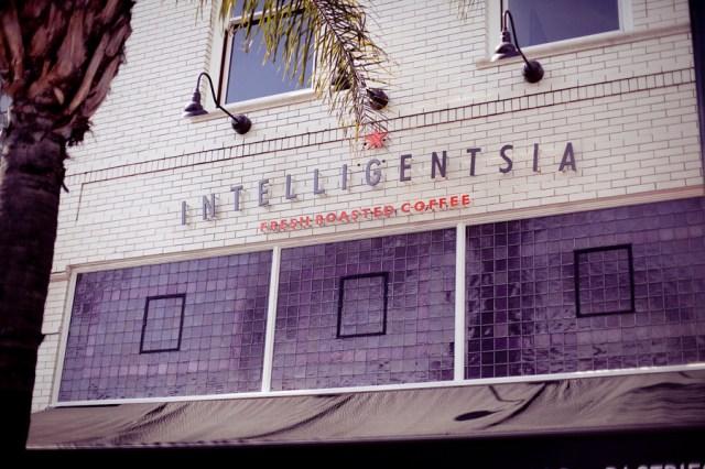 Intelligentsia in Old Town Pasadena.