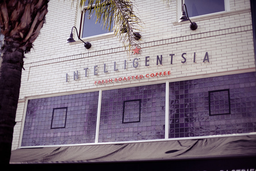 Intelligentsia in Old Town Pasadena.