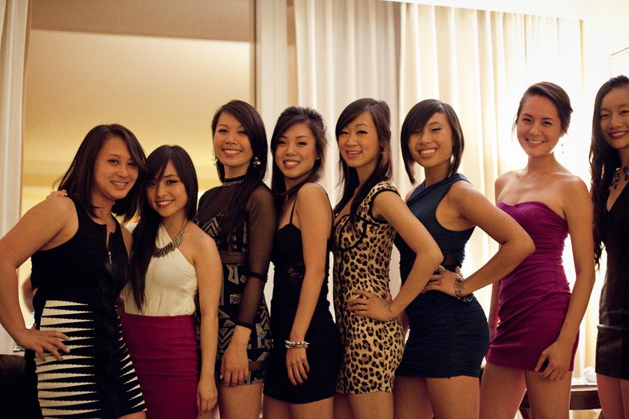 Group photo before going to Light nightclub in Las Vegas.