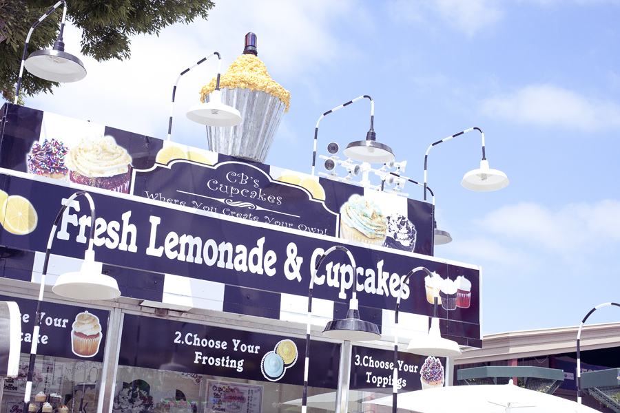 CB's Cupcakes at the Orange County Fair.