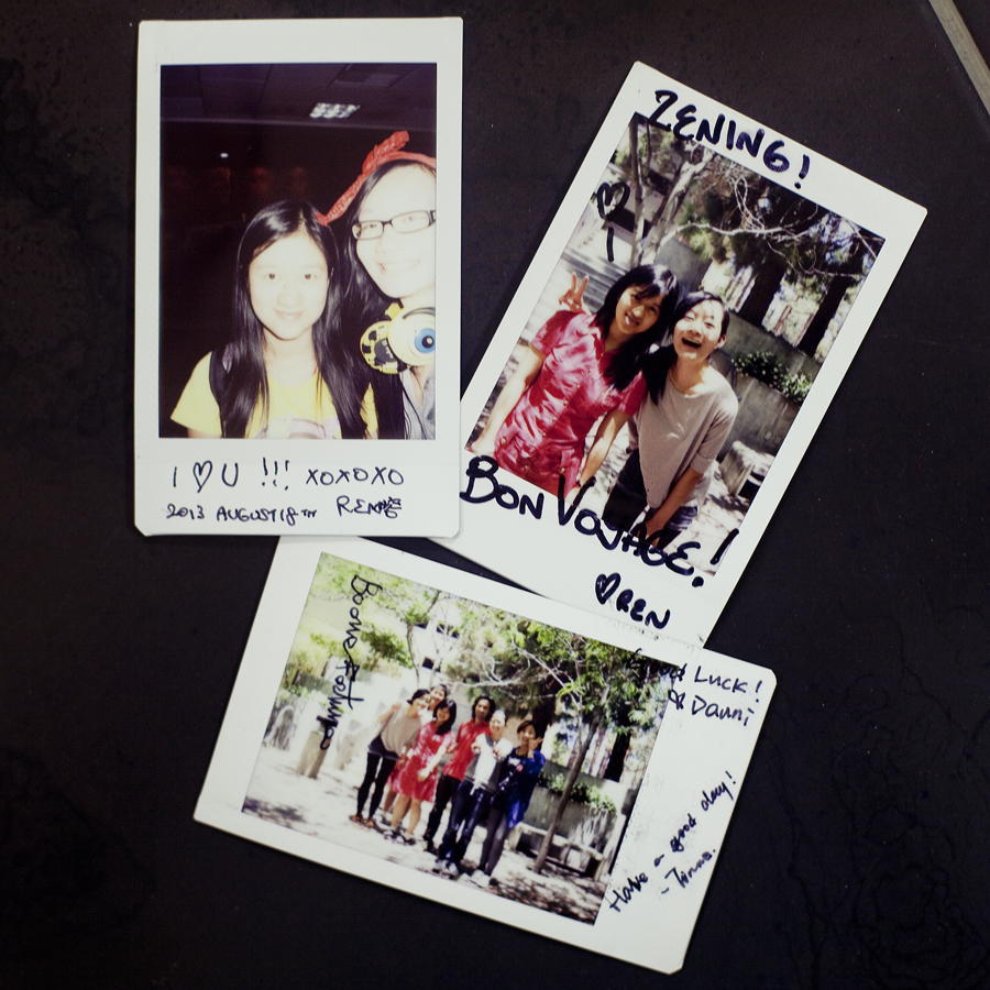 Zen's collection of Instax photos from REMAP.