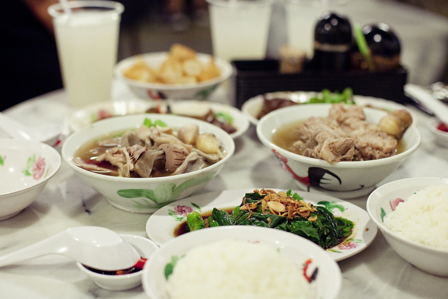 Dinner at Songfa Bak Kut Teh.
