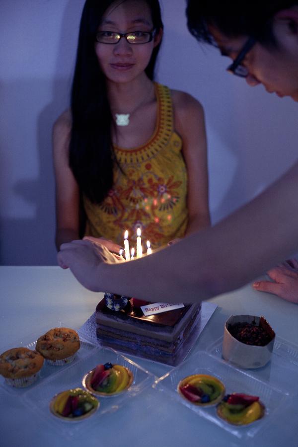 Family celebration for Ren's 27th birthday.