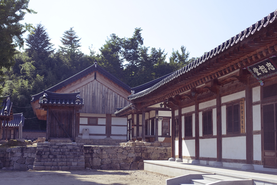 Historical building in Sangju, South Korea.