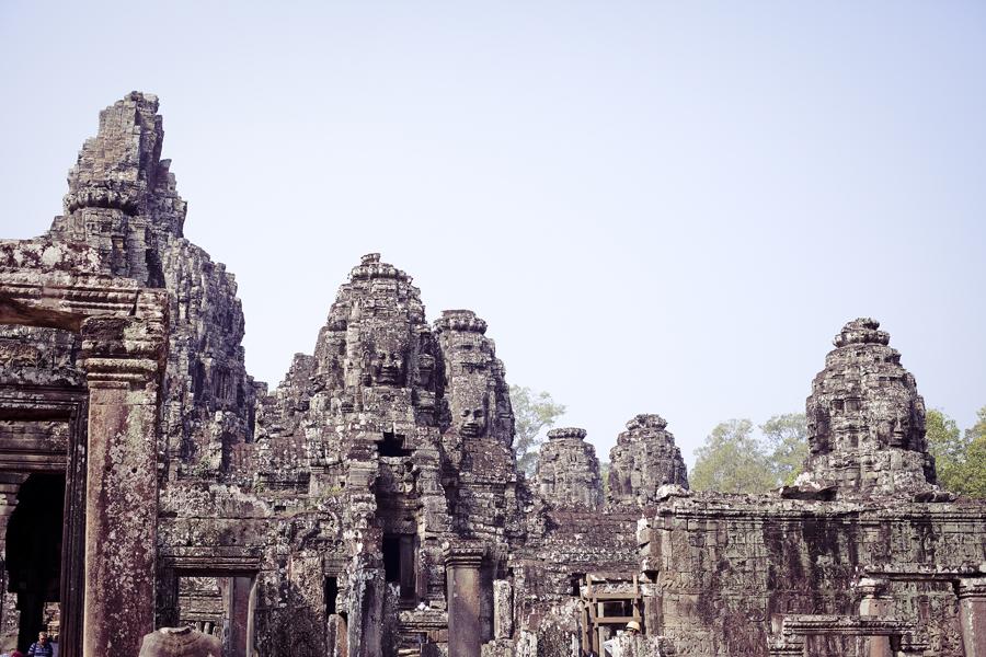 Bayon in Angkor Thom, Cambodia.