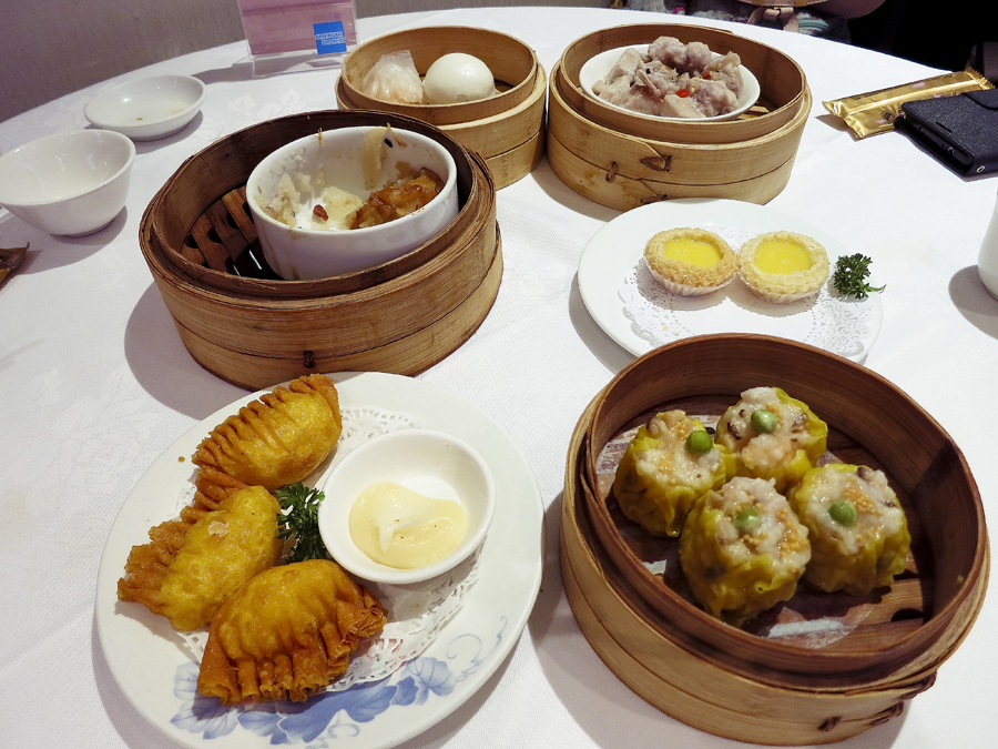 Dim Sum at East Ocean Teochew Restaurant.