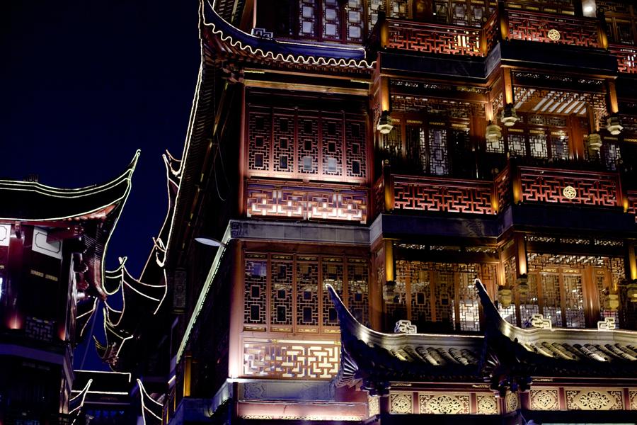 Building at Yu Yuan, Shanghai.