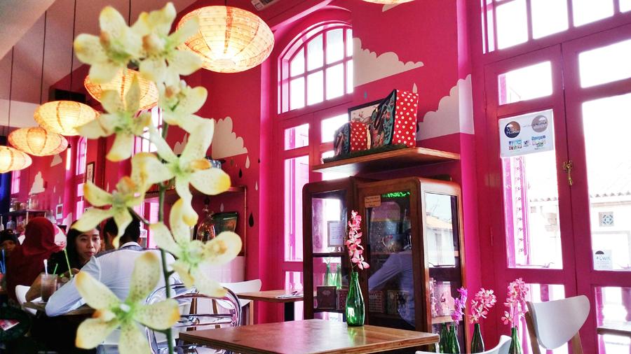 Lovely decor at La Marelle Café & Boutique, Singapore.