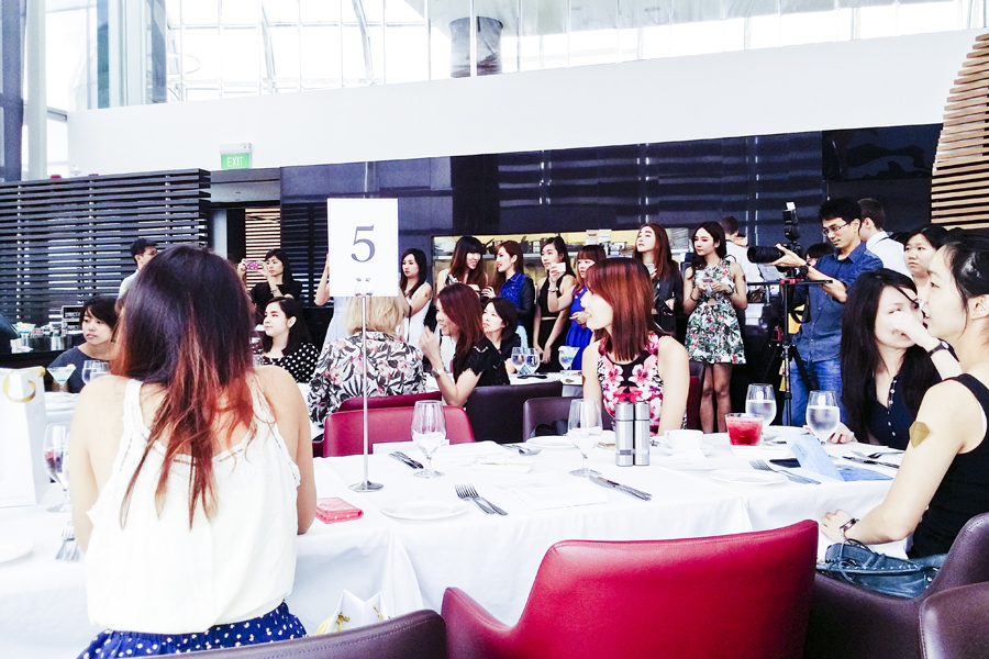 Beautiful bloggers at the Klarity Beauty Brunch at Salt Grill & Sky Bar.