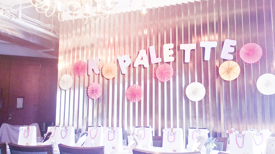K-Palette Magic Beauty Workshop at the Boathouse Restaurant.