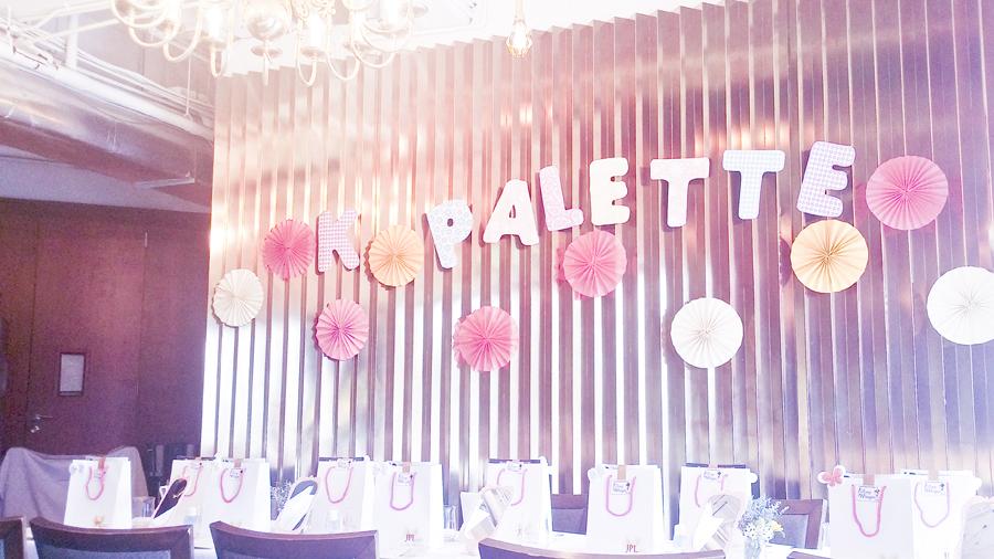 K-Palette Magic Beauty Workshop at the Boathouse Restaurant.
