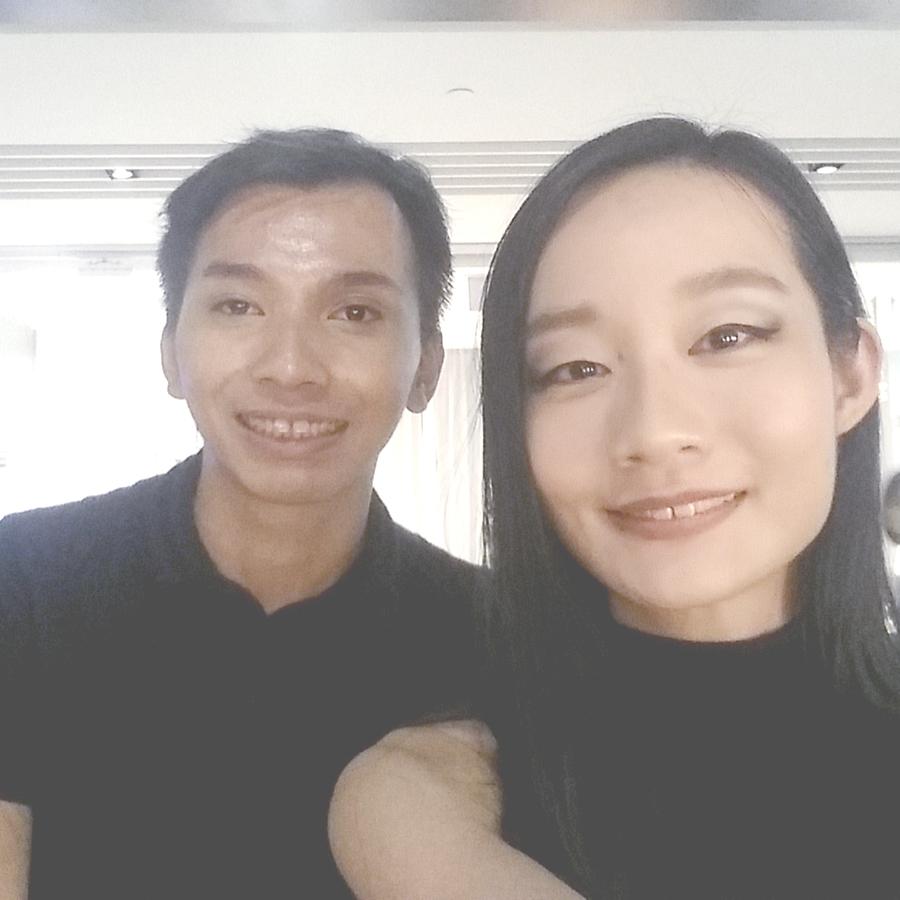 Inglot x Zalora makeover with Inglot makeup artist.
