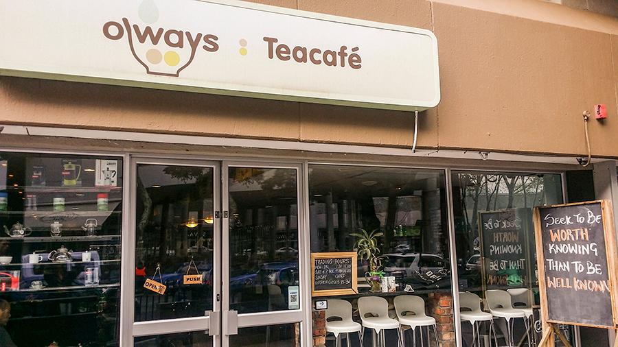 O'ways Teacafe, Cape Town.