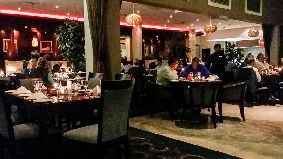 Restaurant at Premier Hotel O.R. Tambo, Johannesburg.