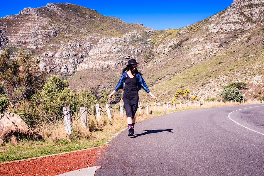 Portrait at Table Mountain, Cape Town.