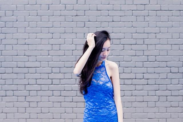 Dresslink lace cheongsam.