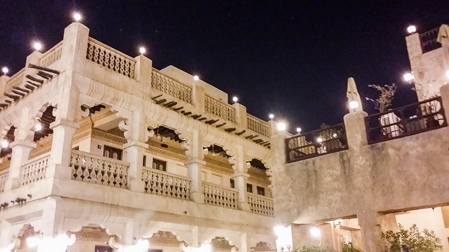 Beautiful architecture at Souq Waqif (سوق واقف), Doha, Qatar.