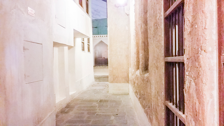 Alley at Souq Waqif (سوق واقف), Doha, Qatar.