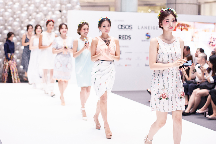 Final catwalk at Clozette Style Party 2016 in Suntec City. #ClozetteStyleParty