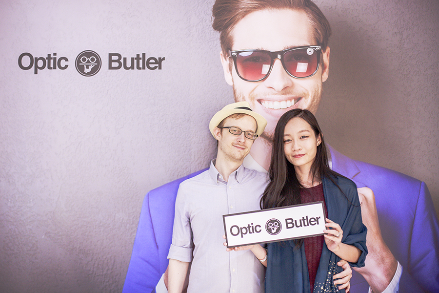 Ottie and Ren at the Her World x Optic Butler Event, Paragon, Singapore.