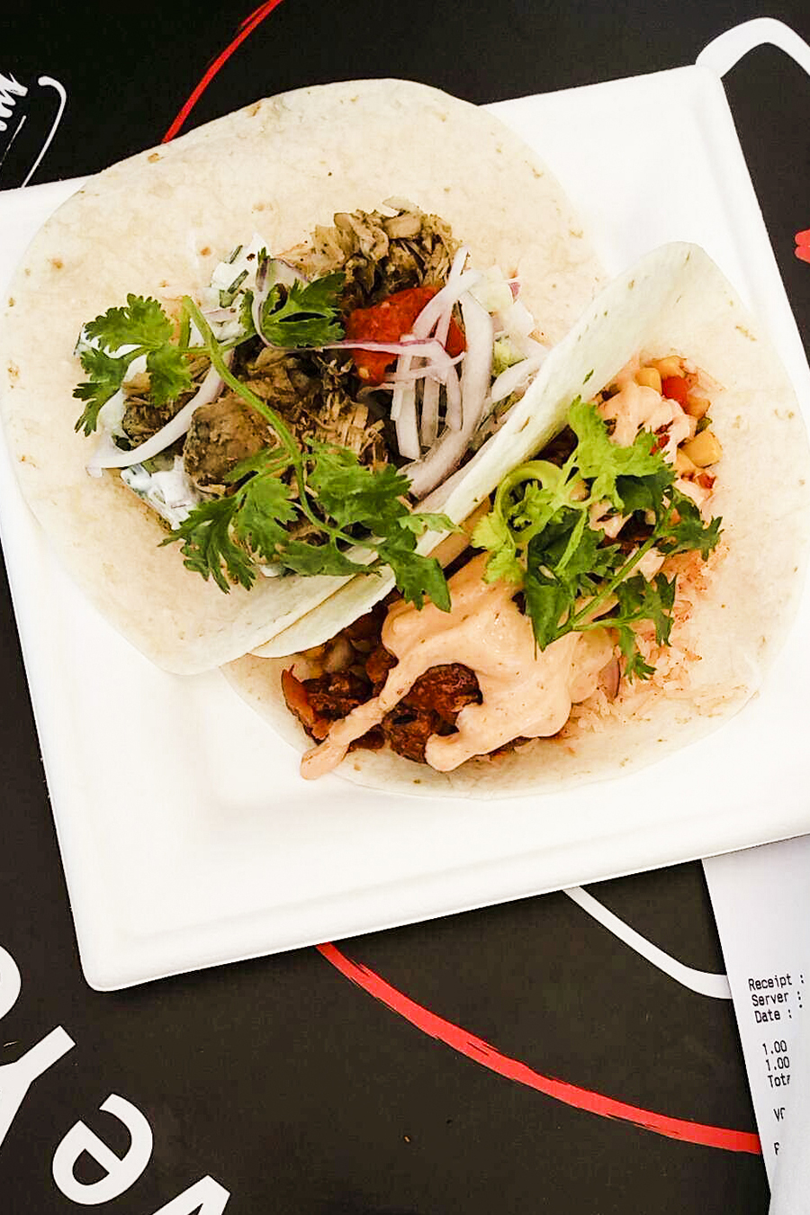 Delicacy Tacos at Savour Gourmet 2016.