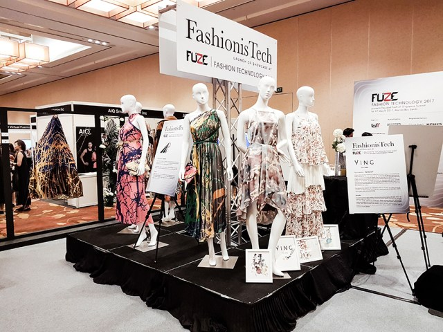 Fashion is Tech FUZE2017 at Marina Bay Sands.