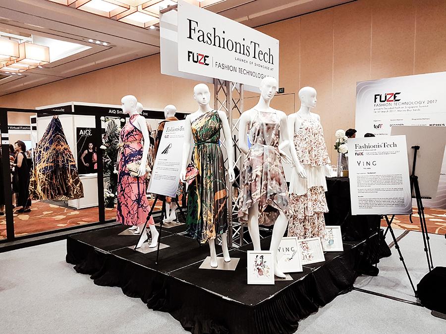 Fashion is Tech FUZE2017 at Marina Bay Sands.