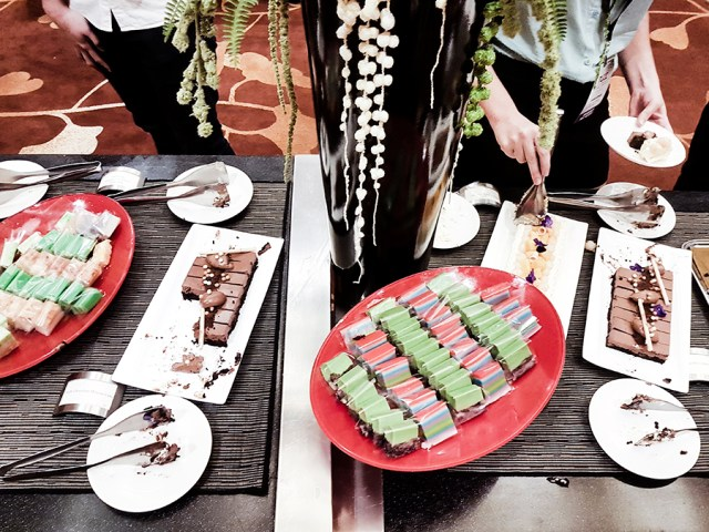 Traditional pastries at FUZE2017 at Marina Bay Sands.