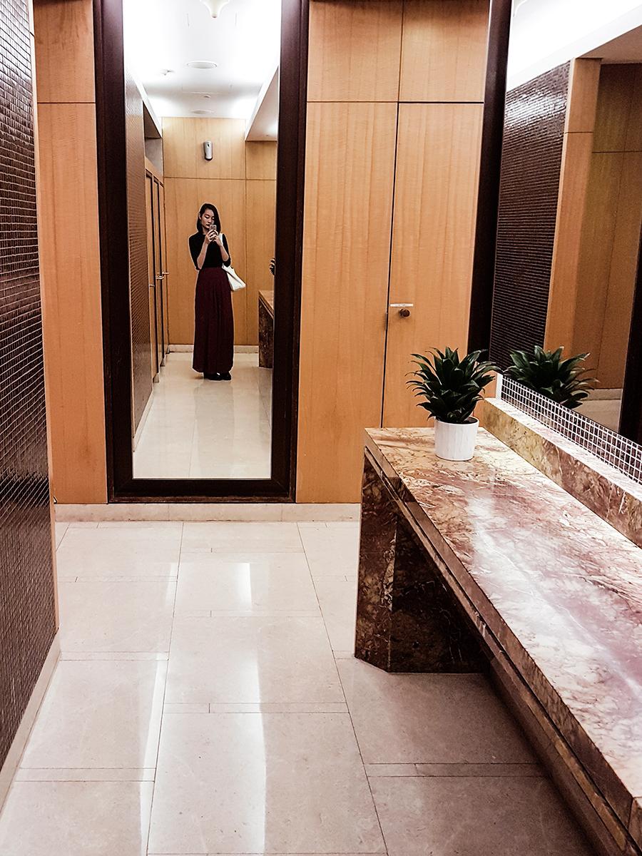 Toilet selfie at FUZE2017 at Marina Bay Sands