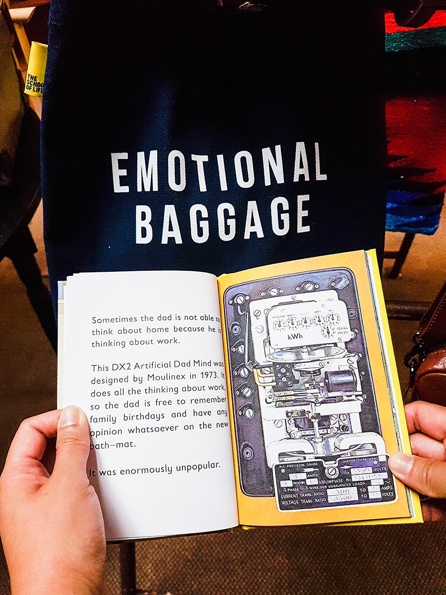 Emotional Baggage tote bag in MANY store in Fremantle, Perth, Australia.