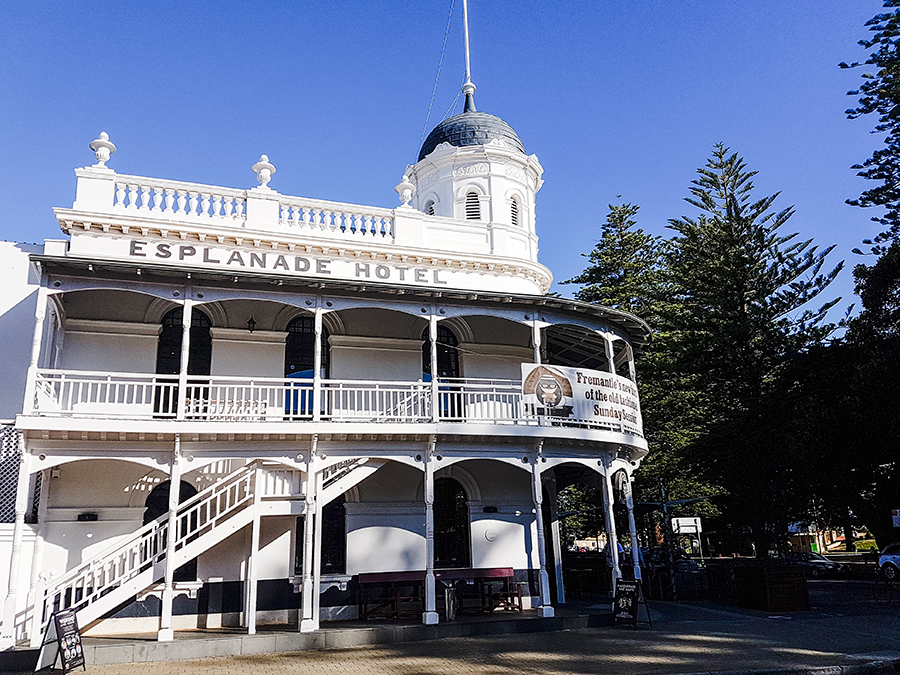 Esplanade Hotel in Fremantle Perth Australia.