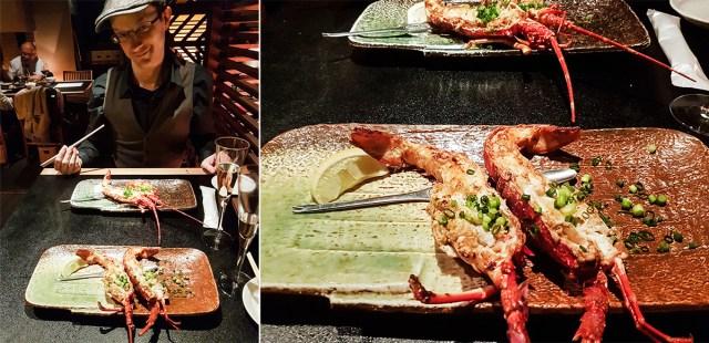 Teppanyaki Ten Lobster Course: Japanese Lobster.