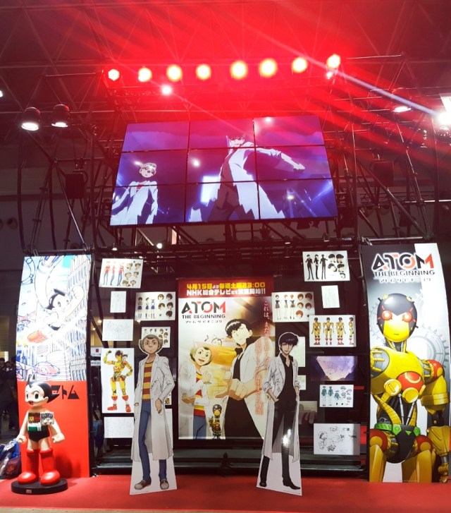 Astroboy Atom at Anime Japan Expo 2017, Big Sight Tokyo.