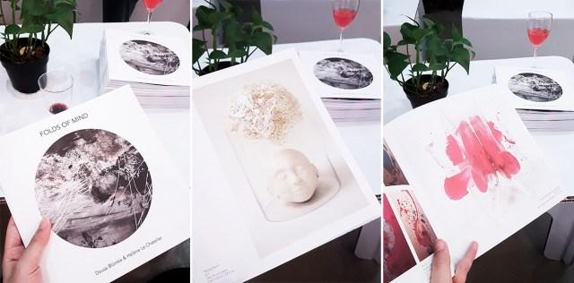 NPE Art Residency: Folds of Mind booklet.