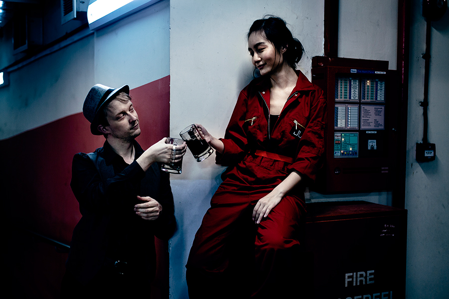The Expanse cosplay Julie Mao & Joe Miller (#TheExpanseCosplayWeek)