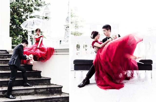 Prewedding photoshoot for RJ & JR, Singapore.