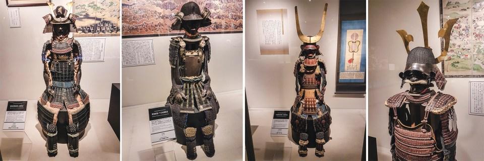 Yasukuni Shrine Museum: Sengoku Jidai & Edo Period Battle Wear exhibit.