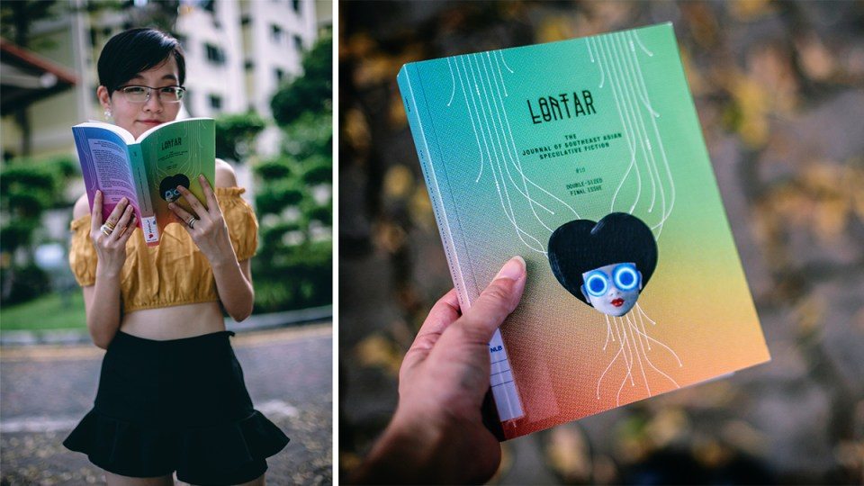 Currently reading: LONTAR The Journal of Southeast Asian Speculative Fiction issue #10.