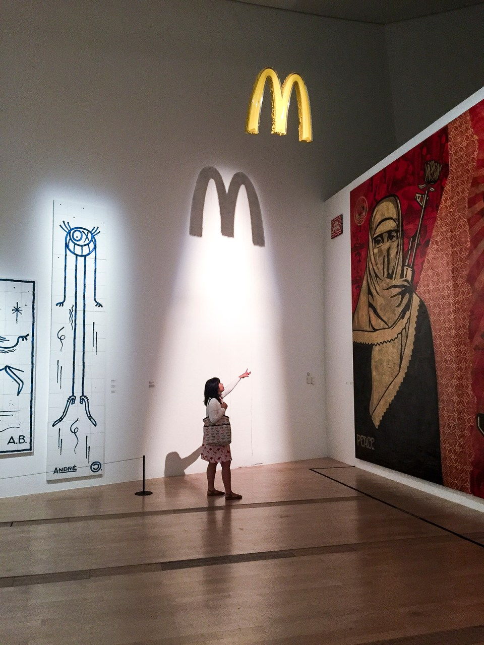 ZEVS - After Liquidated Logo McDonalds Pray for the Shadow