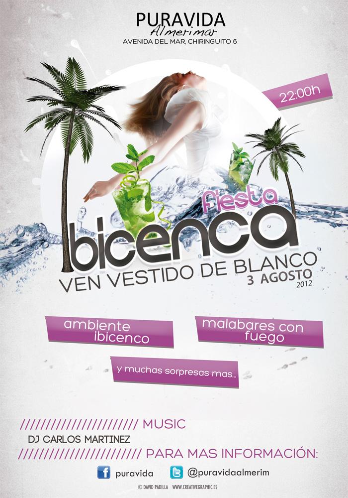 3 agosto fiesta ibicenca puravida - Fiesta ibicenca ...