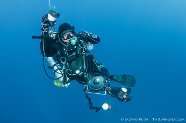 Mark Ogden takes tech diving to a whole new level