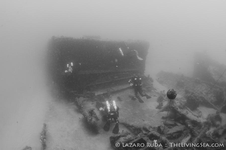 Tech Diving CCR Wreck Divers Palm Beach FLorida