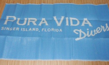 Pura Vida Divers changing mats are here!